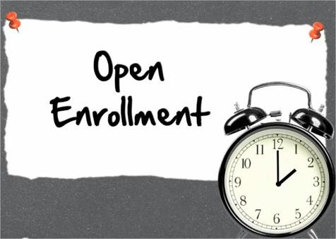 Open Enrollment for 2018 Health Care Coverage